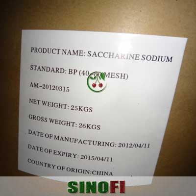 Sodium Saccharin E954 02