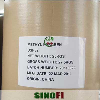 Methylparaben E218 03