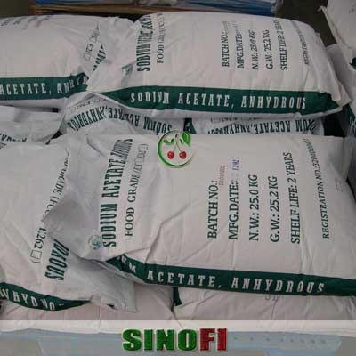 Sodium Acetate Anhydrous E262 04