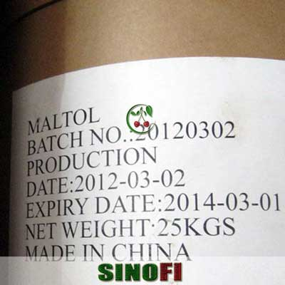 Maltol E636 food additive 03