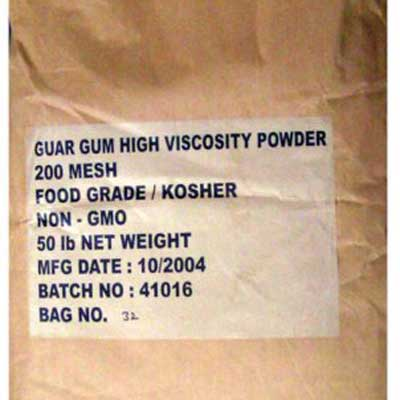 Guar gum E412 halal food additive 03
