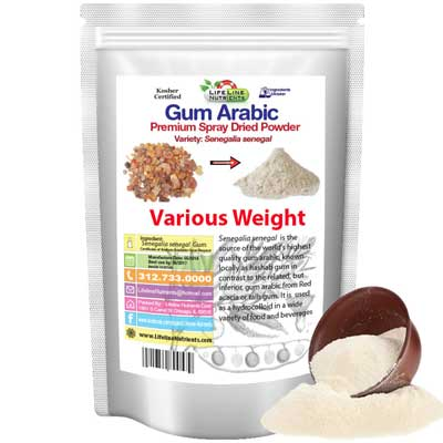 Gum Arabic E414 halal food additive 02